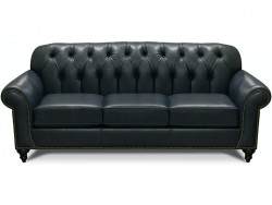 Evan Leather Sofa with Nails Collection