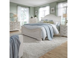Bayside King California Panel Bed, Dresser & Mirror, Chest, Night Stand