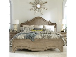 Corinne King Panel Bed